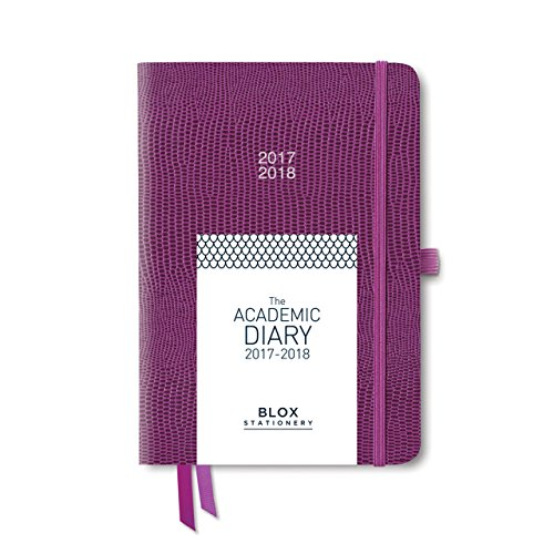 The BLOX Academic Diary 2017-18 (Plum)