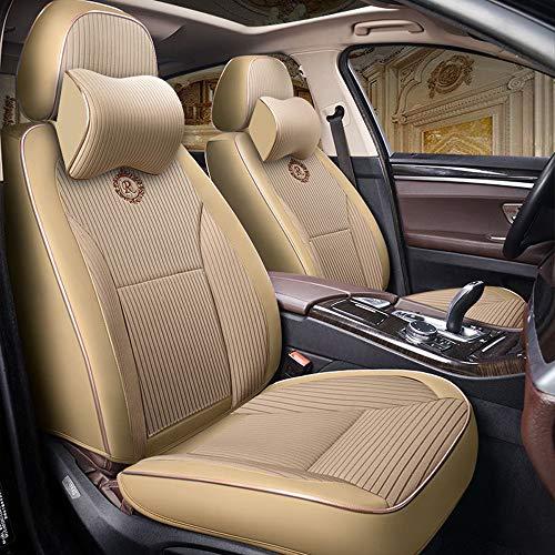 Universale (anteriore e posteriore) Coprisedili per auto in lino per Mini Tutti i modelli Cooper Countryman Cooper Paceman Car Styling Accessori auto,B