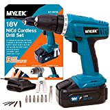 Best Drill Cordlesses - MYLEK 18V Cordless Drill Driver With 13 Piece Review