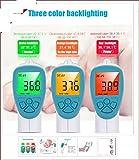 Hylogy Infrarot Stirnthermometer kontaktlos und schnell die Körpertemperatur zu messen, für Kinder und Erwachsenen, besonders für Babys (Lila)