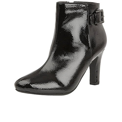 Lotus Sonitas Womens Dress Ankle Boots 7 Black