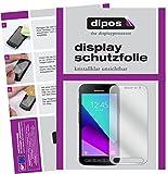 dipos I 2X Schutzfolie klar passend für Samsung Galaxy Xcover 4 Folie Bildschirmschutzfolie
