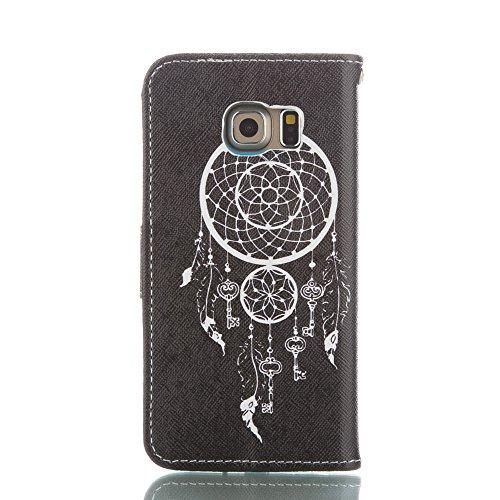 iPhone 6 Plus 5.5 Custodia in pelle a Portafoglio, Felfy Flip PU pelle Portafoglio Custodia del Cuoio Leather Wallet Book Chiusura Magnetica Protettiva Tasca Case Cover per Apple iPhone 6 Plus 6S Plu Campanula