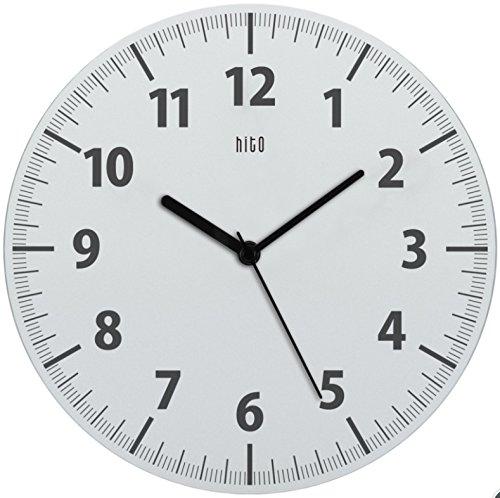 Hito diseño moderno Silent Non-ticking Reloj pared