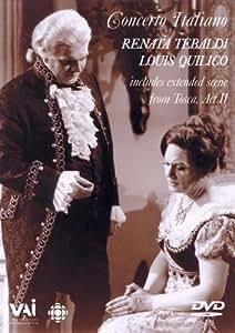 Renata Tebaldi & Louis Quilico: Concerto Italiano [DVD] [1965]