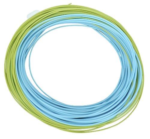 Shakespeare Fliegenschnur Agility, Inter WF6, Azur blau/grün