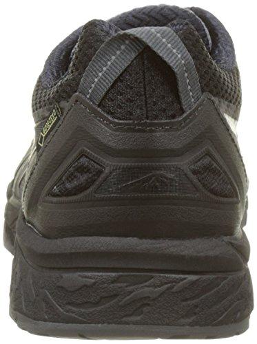 Asics Donna Gel-fujitrabuco 5 G-tx Scarpe Da Corsa Nere (nero / Acciaio Scuro / Argento)