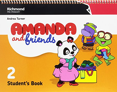 AMANDA & FRIENDS 2 STUDENT'S PACK - 9788466829274 por AMANDA & FRIENDS
