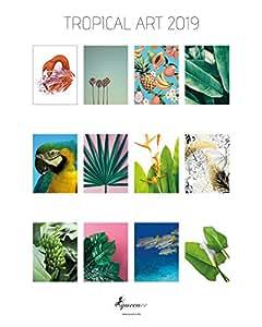 premium art kalender 2019 fotokalender 39 tropical art 2019 39 kalender im rahmen zum. Black Bedroom Furniture Sets. Home Design Ideas