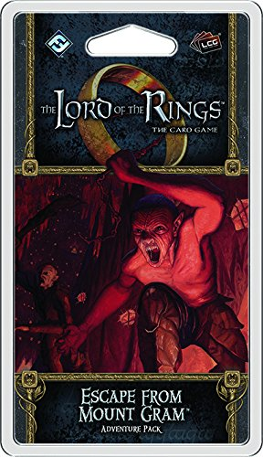 Lord of the Rings Lcg: Escape from Mount Gram Adventure Pack