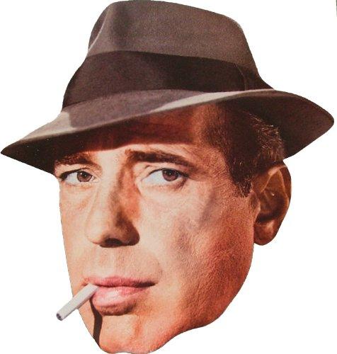 Movie Stars Hollywood Star - Humphrey Bogart -Masque de Visage Fait en Carte Rigide