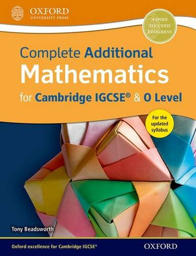 IGCSE complete additional mathematics. Student's book. Per le Scuole superiori. Con espansione online