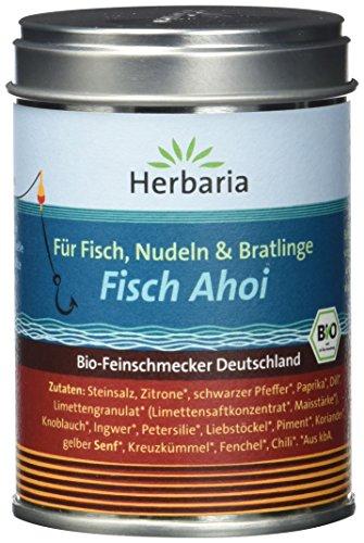 """Herbaria\""""Fisch Ahoi\"""" Fischgewürz M-Dose BIO, 2er Pack (2 x 85 g)"""