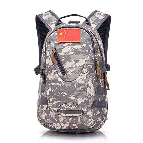 große Gesichtskatze Sparrow Tactical Backpack 20L Reitsack Outdoor-Reiserucksack, ACU Digital Digital Backpack Kit