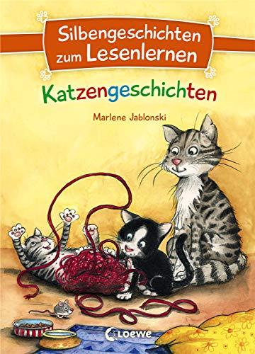 Silbengeschichten zum Lesenlernen - Katzengeschichten