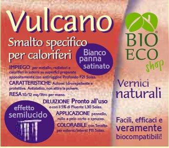 Bioecoshop Smalto Specifico Per Caloriferi Vulcano F05 Bioeco SOL 750 ml.