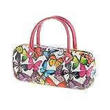 MagiDeal Brillenetui PU Leder Sonnenbrillen Hardcase Handtasche Design Brillenbox Brillen Etui - # 4, One Size