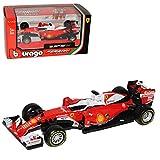 alles-meine.de GmbH Ferrari SF16-H Sebastian Vettel Nr 5 Formel 1 2016 1/43 Bburago Modell Auto