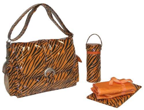 kalencom-a-step-above-buckle-bag-tiger-fur-black-orange-by-kalencom