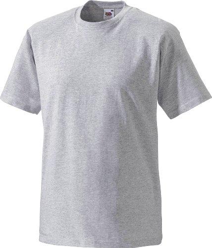 Preisvergleich Produktbild Fruit of the Loom T-Shirt grau/melange Größe 2 (M)
