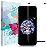 Samsung Galaxy S9pellicola protettiva, Onson® [1Pack] S9pellicola protettiva per Galaxy s9,3d-curved durezza 9H, senza bolle, anti-impronte pellicola proteggi schermo