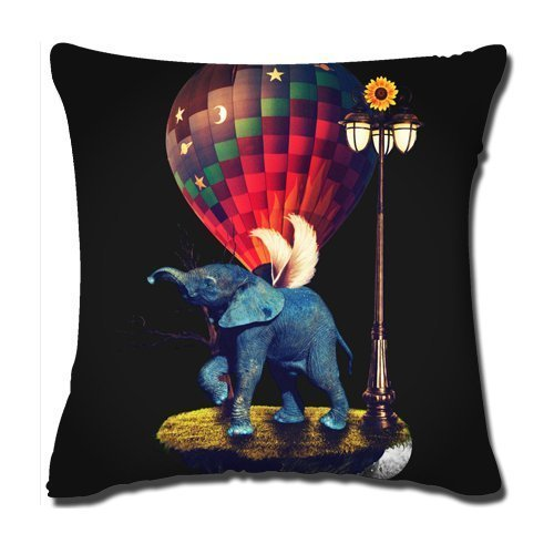 ytl-wild-animal-linen-burlap-cushion-cover-pillow-case-elephant-fly-in-the-night-by-izook