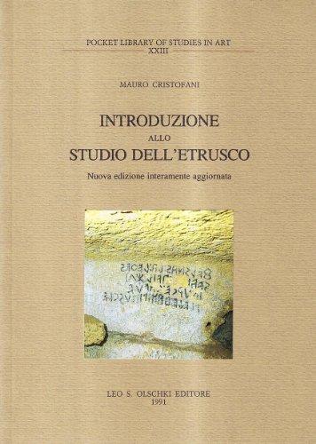 Introduzione allo studio dell'etrusco