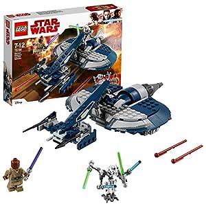 LEGO Star Wars- General Grievous Combat Speeder Star Wars TM Juego de Construcción, Multicolor, única (Lego ES 75199)