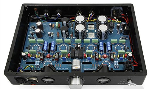 Gowe ausgewogene Kopfhörer-Verstärker Vakuum Röhren: 2x 12AT7, 4x 6h30pi Vakuum-kopfhörer