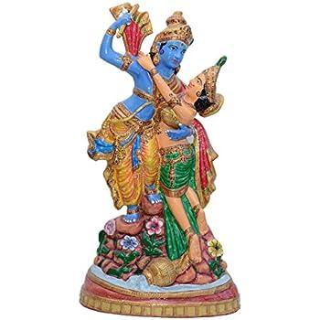 Buy Collectible India 2 Feet Large Krishna Idol Lord Flute