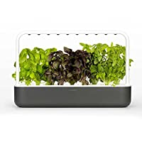 The latest Smart Garden Takes Care of Plants automaticamente by Making Sure they have enough Water, Light and Nutrients at all times. Our Specially developed Smart Soil and built-in Sensors Make sure Plants Get The Optimal Configuration of water, Oxy...