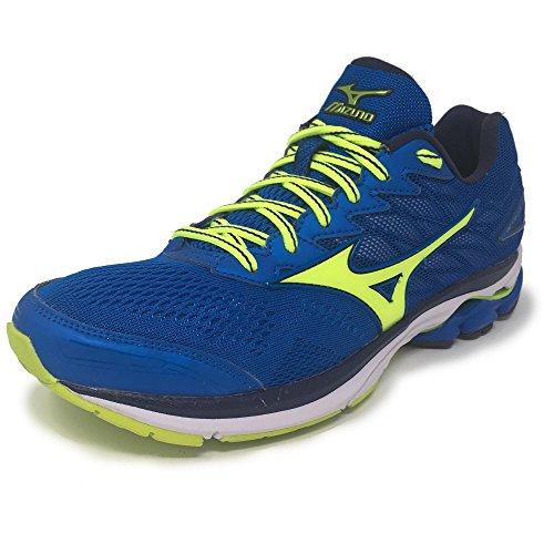 Nuevo Mizuno Wave Rider 20 Mens Running Shoes Calzado Deportivo Azul, Azul, 42.5