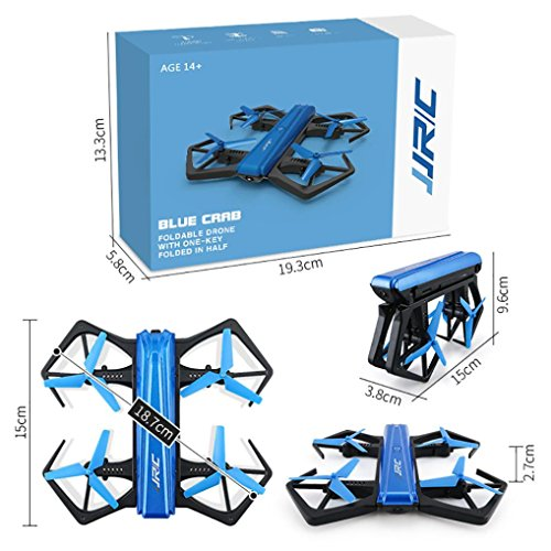 QUINTRA JJRC H43WH 720P WIFI Kamera Faltbare Höhe Hold RC Quadcopter Extra 2 Batterie