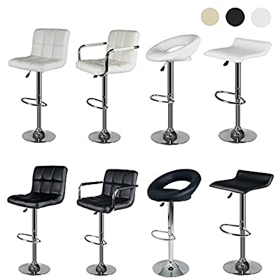 Sungle® Breakfast Bar Stools Kitchen Stool Dining Swivel Chair