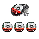 Outletdelocio. 4 latas de 250 perdigones Gamo Match Diabolo de Copa 4,5mm. 4-38203/23054