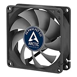 Arctic F8 Pwm Pst Co - 80mm Dual Ball Bearing Low Noise Pwm Standard Case Fan With Pst Feature - Ideal For Systems Running 247