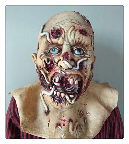 nice shop now Cosplay Gruselige Halloween Kostüm Party Requisiten blutige Gabel Monster Maske
