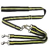 Riflettente elastico Pet Dog Guinzaglio principali brand di sport di stile ritrattabile per Grande Piccolo 2 Way cani blu. verde e nero . green
