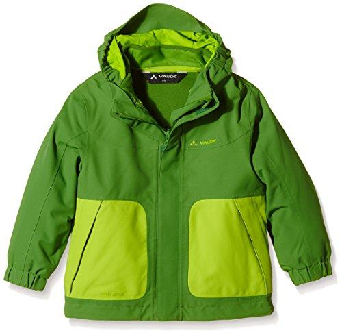 VAUDE Campfire 3-in-1 Jacket IV Kinder Doppeljacke, Parrot Green, 92, 05381