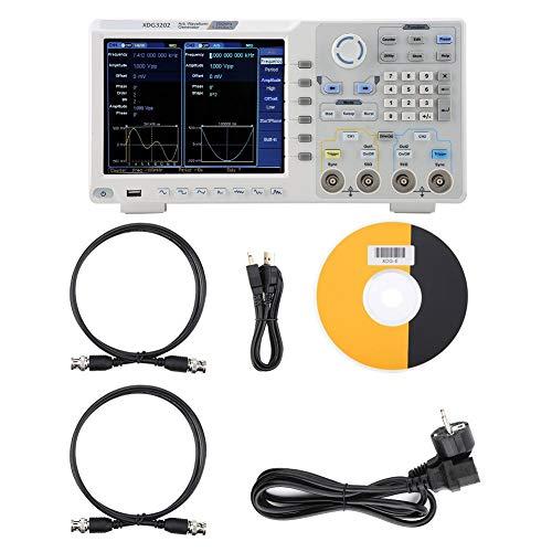 OWON XDG3202 Oszilloskop Waveform-Generator (152 Formen) 8-Zoll-Touchscreen 2 Kanäle 200 MHz 1,25GSa / s 14 Bit Unterstützung der SCPI-Kommunikationsfunktion von labview(EU Stecker)