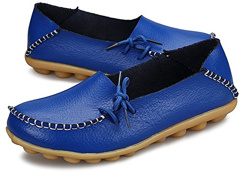 FangstoLoafer Flats - A collo basso donna Sty-1 Blue