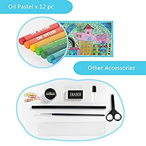 51p%2BkQc26 L. SS300  - LIVEHITOP-109-PCS-Artstico-Set-de-Pintura-y-Dibujo-Profesional-Caso-Kit-Colores-Lpices-Acuarela-Rotuladores-Oleo-Pastel-Regalo-para-Nios-Estudiante-Adulto