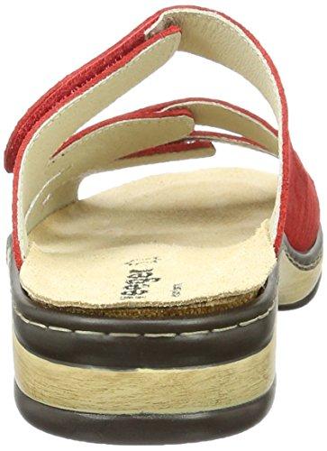 Weeger Damen 14620 Pantoletten Rot (Rot)