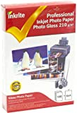 Inkrite PhotoPlus Professional Paper Photo Gloss 210gsm 6x4 (100 sheets)