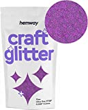 Hemway Craft glitter 100g ultrafine 1/325,1 cm'.008 0.2 mm, DARK ROSE, Ultrafine 1/128' .008' 0.2MM