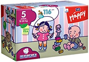 Bella Baby Happy Windeln Gr. 5  Junior 12-25kg Big Pack, 116 Stück