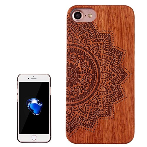 GHC Cases & Covers, Für iPhone 7 Schädel Muster Carving Palisander Holzschutz Schutzhülle Fall ( SKU : Ip7g1270b ) Ip7g1270f