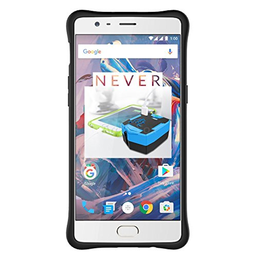 a724c438191 60% OFF on Tarkan OnePlus Three  One Plus 3   3T  Back Case Cover 360  Kickstand Original Sniper  Grey  on Amazon