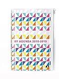 Quo Vadis Agenda Scolastica My Agenda accademica settimanale con tasca zip anno 2018–201910x 15cm colori Triangoli