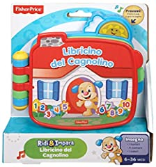 Idea Regalo - Fisher Price CDK27 - Libricino del Cagnolino
